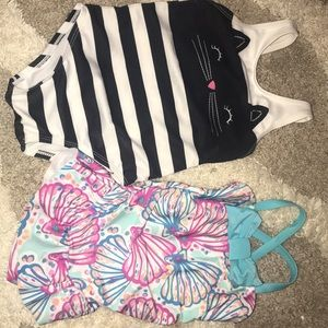 Toddler girl bathing suits